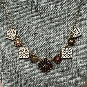 """Kate Spade RARE """"Moroccan Tile"""" Collar Necklace"""